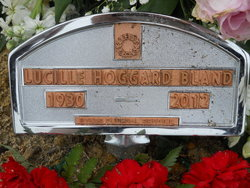 Lucille <i>Hoggard</i> Bland