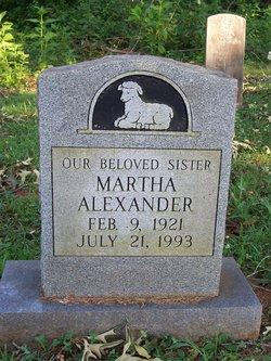 Matha Alexander