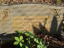 Rachel <i>Randolph</i> Carter