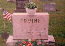 Williamina Wallace Ina <i>Smith</i> Ervine