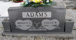 Broadus L Adams