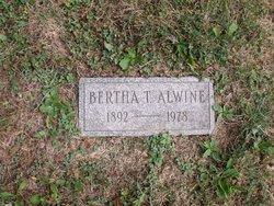 Bertha <i>Theobald</i> Alwine