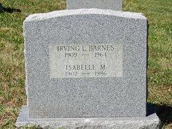 Irving L Barnes