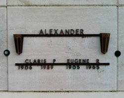 Claris P. Alexander