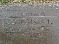 Virginia E. Jennie <i>Pittman</i> Colvin
