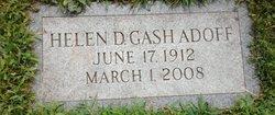 Helen D <i>Gash</i> Adoff