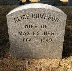 Alice <i>Cumpson</i> Escher