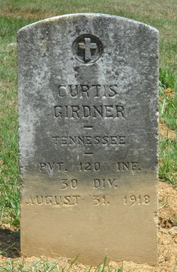 Pvt Curtis G. Girdner