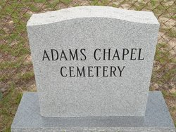Adams Chapel Cemetery