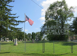 Albion Evangelical United Church of Christ Cemeter