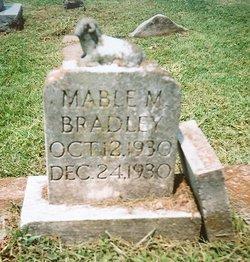 Mable Marie Bradley