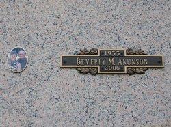 Beverly Mae <i>Eberhardt</i> Anunson