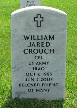Corp William Jared Crouch