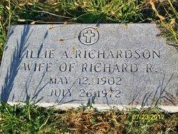 Lillie Alma <i>Collins</i> Richardson