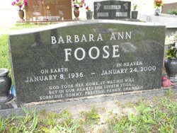 Barbara Ann <i>Korn</i> Foose