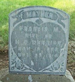 Frances Melissa <i>Dickerson</i> Derrick