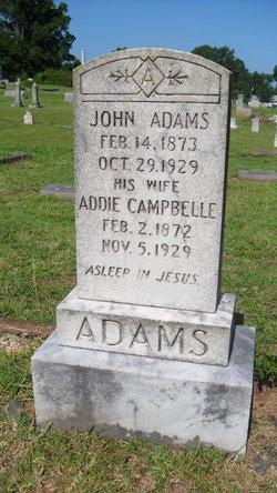 Addie <i>Campbelle</i> Adams