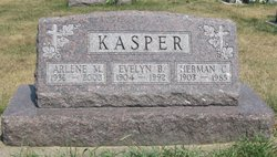 Evelyn B <i>Kron</i> Kasper