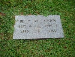 Betty <i>Price</i> Ashton
