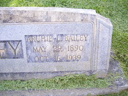 Archier Lee Archie Bailey