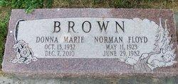 Donna Marie <i>Buhler</i> Brown