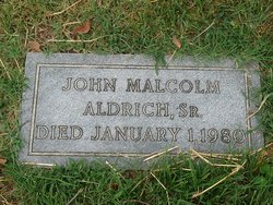 John Malcolm Aldrich