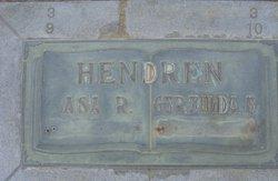 Robert Asa Asa Hendren