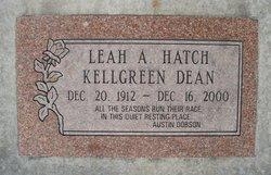Leah Ada <i>Hatch</i> Dean