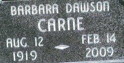 Barbara Jean <i>Dawson</i> Carne