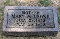 Mary Matilda <i>Turner</i> Brown