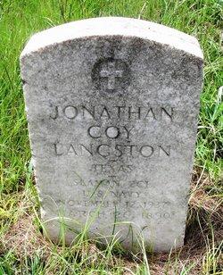 Jonathan Coy Langston