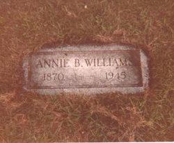 Sarah Annie Belle <i>Sisk</i> Williams