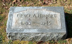 Grace A <i>Leonard</i> Hibbert
