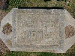 Mary Ann <i>Reddy</i> Widman
