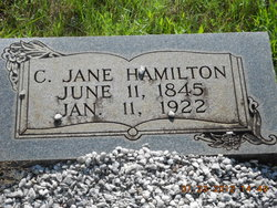 Clorinda Jane <i>king</i> Hamilton