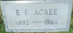E. F. Acree