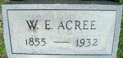 W. E. Acree