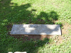 Jennie <i>Thomas</i> Anderson