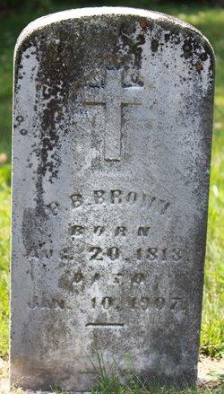 B.B or H.B. Brown