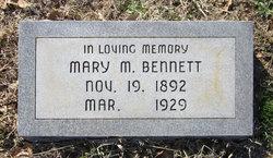 Mary Magdaline <i>Moore</i> Bennett