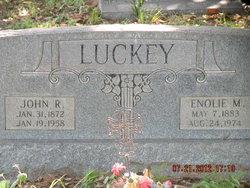 Enola Myrtle Enolie <i>Miller</i> Luckey