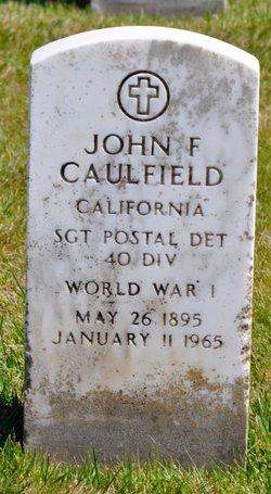 John F Caulfield