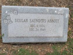 Beulah Irene <i>Saunders</i> Abbott
