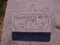Margurette Avery