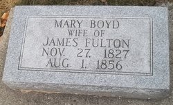 Mary <i>Boyd</i> Fulton