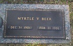 Myrtle V <i>Bell</i> Beer