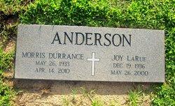 Morris D Anderson