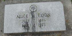 Alice Maude <i>Hauswirth</i> Coon