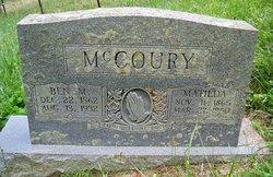 Benjamin M. McCoury