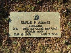 Clyde Patterson Adams